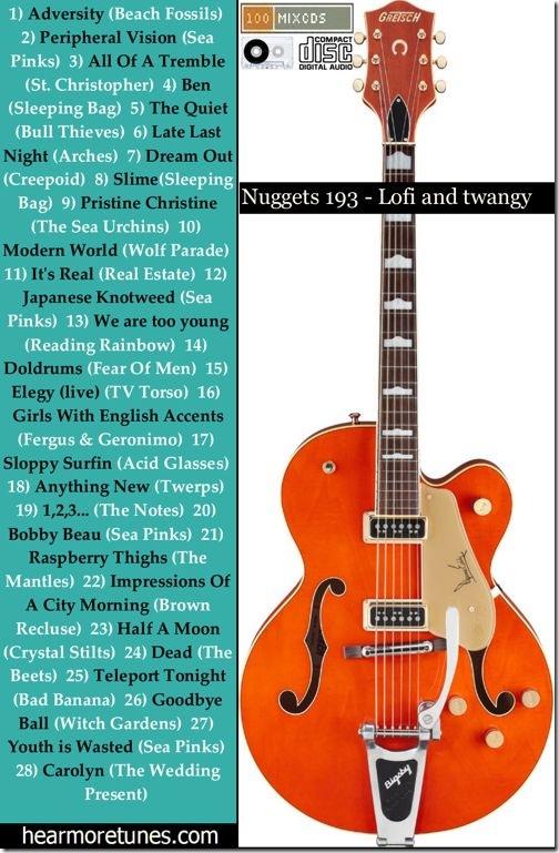 Nuggets 195 - lofi and twangy