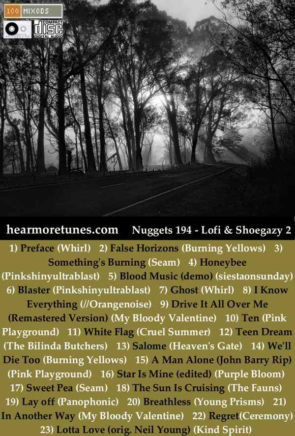 Nuggets 194 - Lowfi and shoegazey