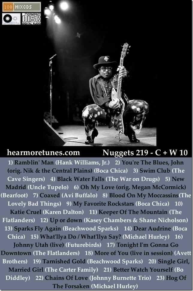 Nuggets 219 - C + W 10