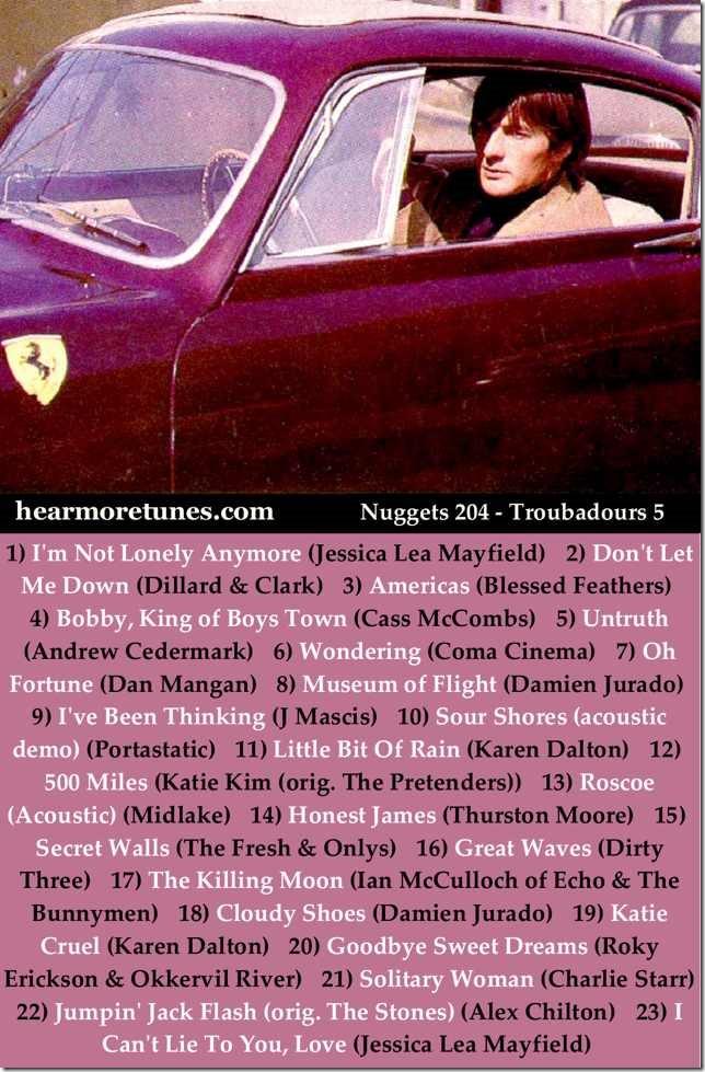 Nuggets 204 - Troubadours 5