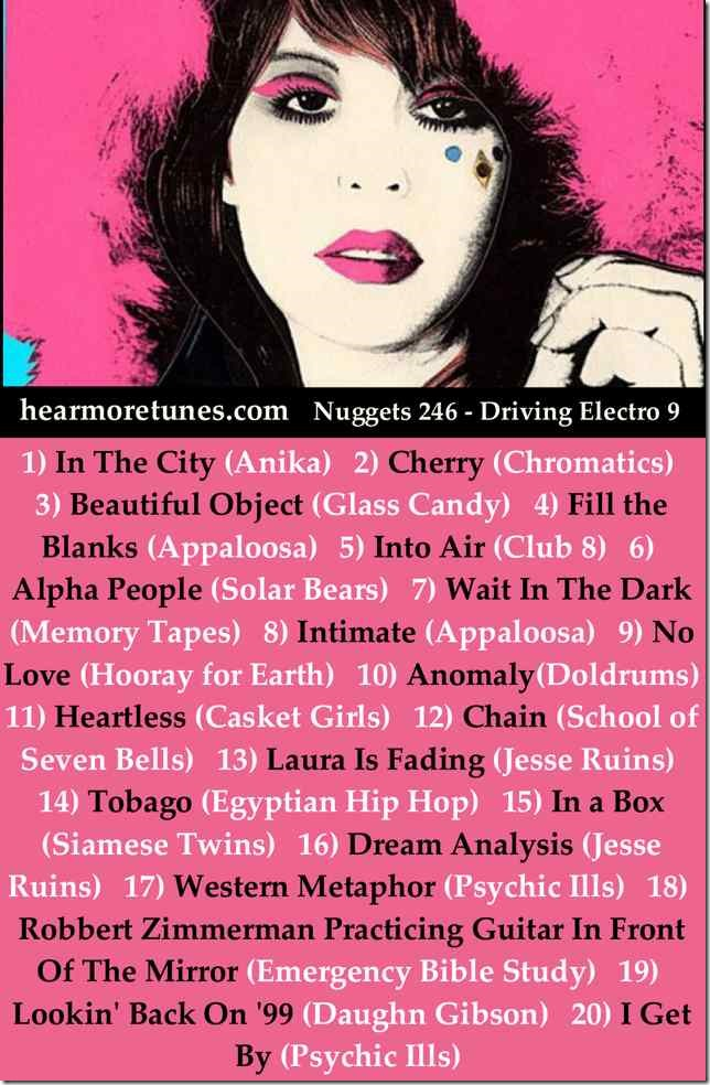 Nuggets 246 - Driving Electro 9